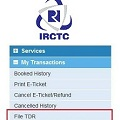 What is TDR & How to file TDR for e-ticket in IRCTC-featured-image