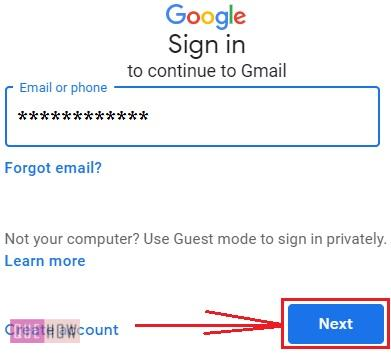Block Emails on Gmail - 1