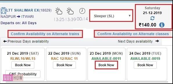 Book a train ticket 4