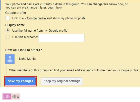 CREATE A GROUP IN GOOGLE --10