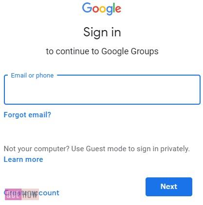 CREATE A GROUP IN GOOGLE -3