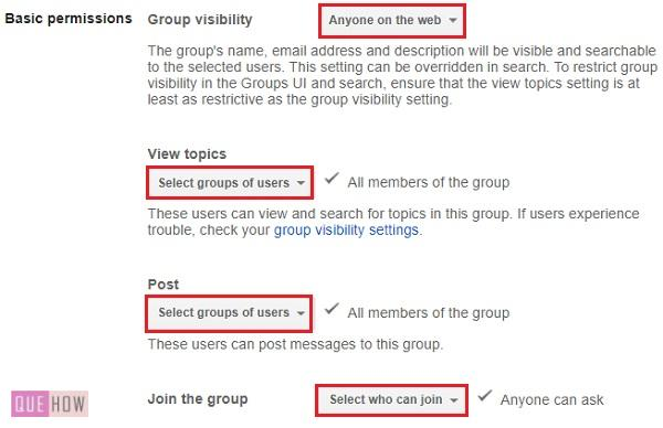 CREATE A GROUP IN GOOGLE -6