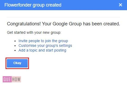CREATE A GROUP IN GOOGLE --9