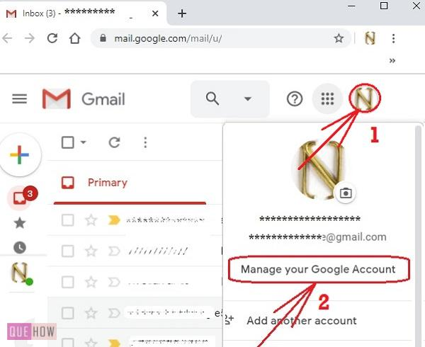 Change mobile number in Gmail -3