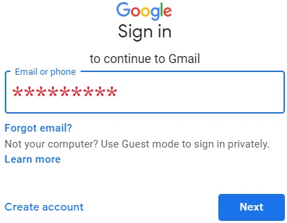 Compose email in Gmail 1