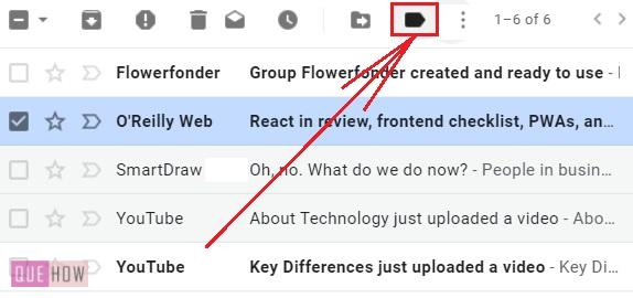 Create a folder in Gmail - 3