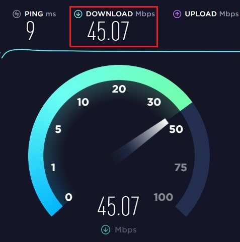 How to test internet speed 4