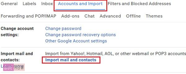 Import Contact in Gmail 4