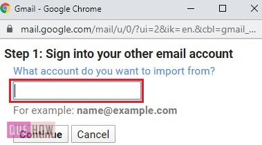Import Contact in Gmail 5