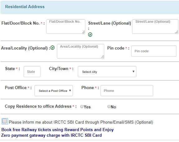 create irctc account 4