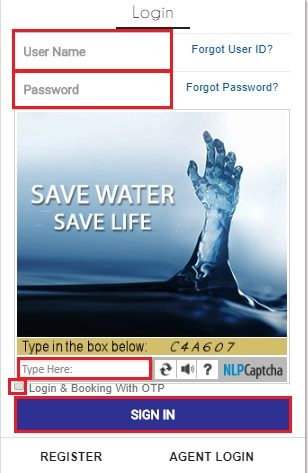 create irctc account 8