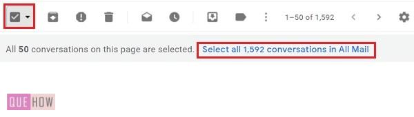 delete all mails in Gmail -05