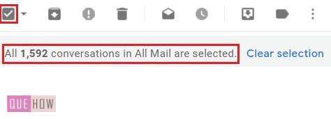 delete all mails in Gmail -- 6