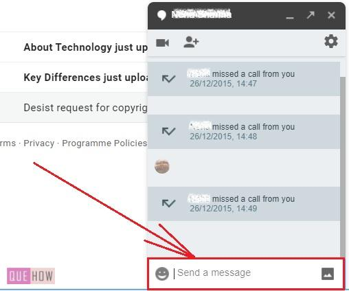 enable & disable chat in Gmail 8