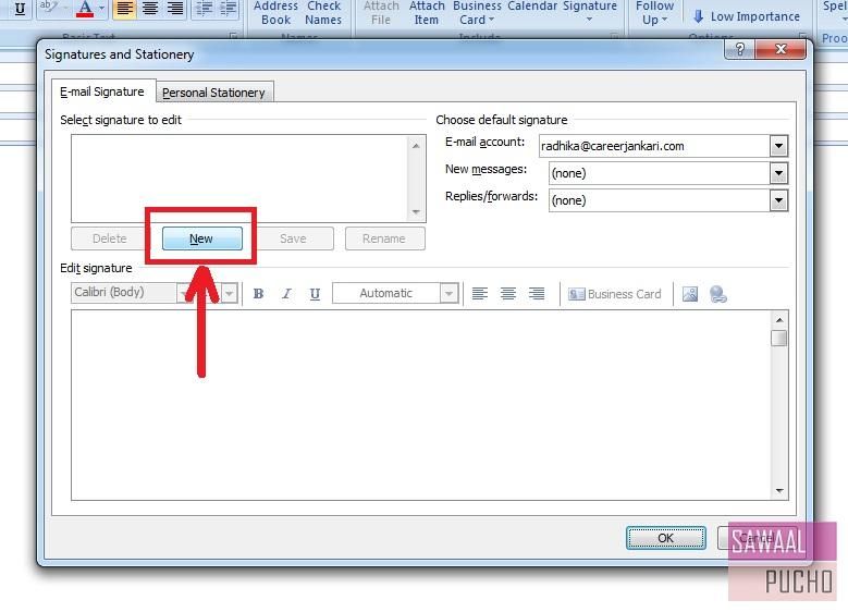 how-to-make-signature-outlook-2007-step3