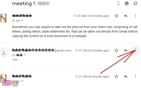 print an email in Gmail 01