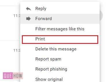 print an email in Gmail 02