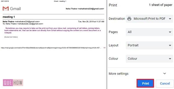 print an email in Gmail 03