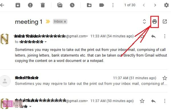 print an email in Gmail 4