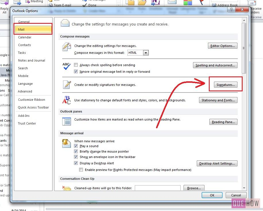 How-to-Make-Signature-Outlook 2010-step3