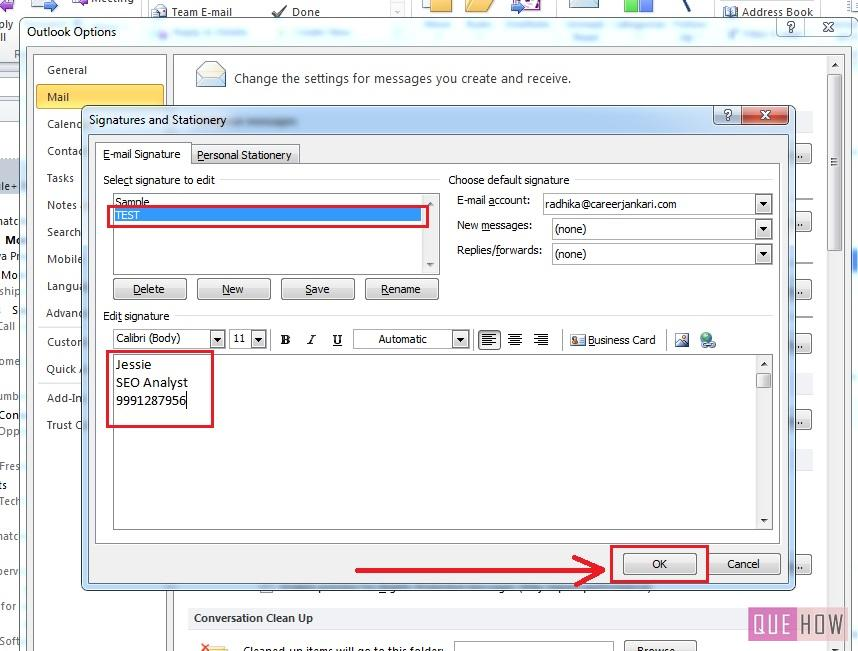 How-to-Make-Signature-Outlook 2010-step6
