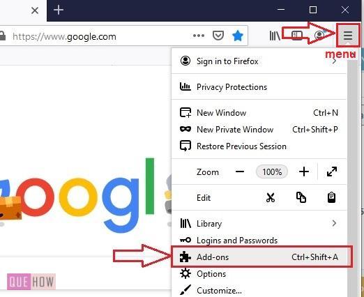 Install Add-ons in Mozilla Firefox 1