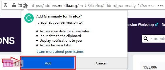 Install Add-ons in Mozilla Firefox 5