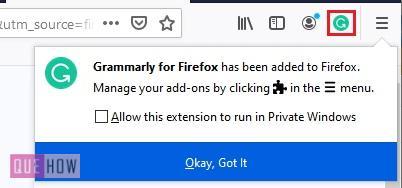 Install Add-ons in Mozilla Firefox 6