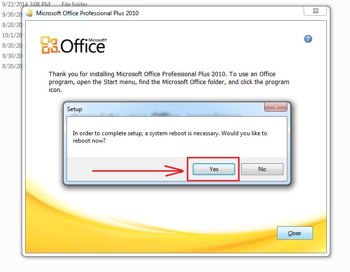 Install-MS Office 2010-without-removing-2007,2003-step7