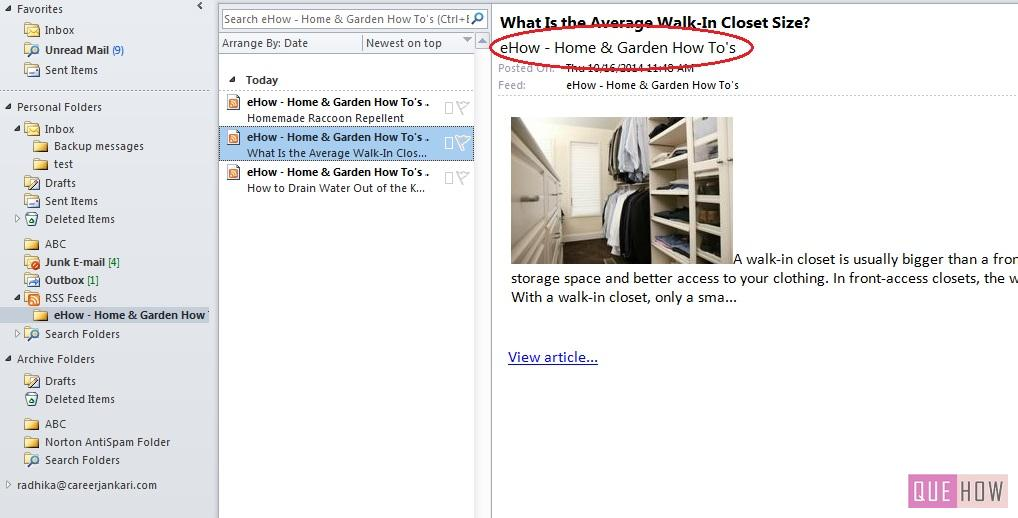 how-to-add-RSS feeds-outlook 2010-step5