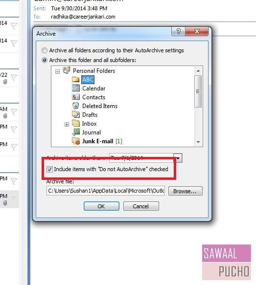 how-to-archive-emails-folders-outlook 2007-step4