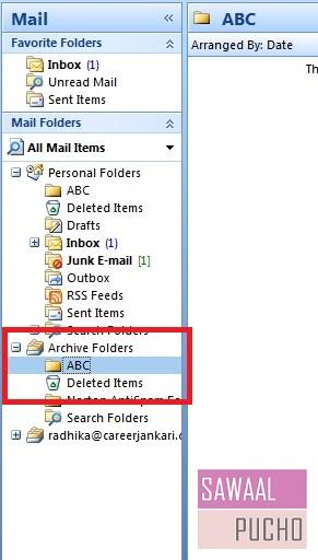 how-to-archive-emails-folders-outlook 2007-step7