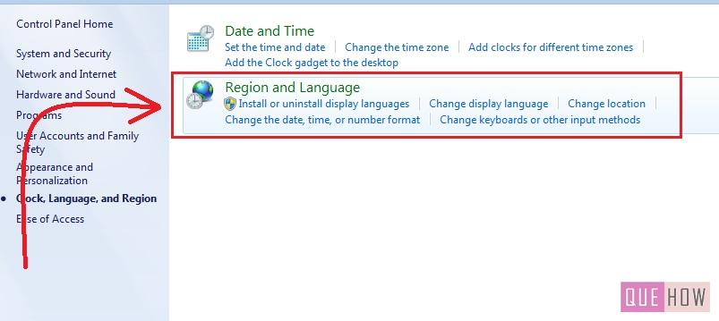 how to change language windows 7 step3