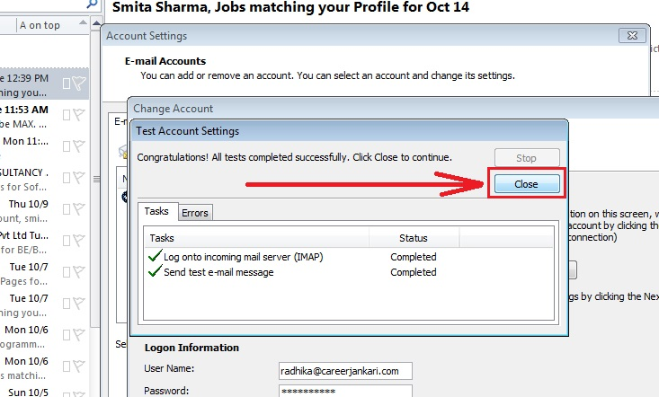 how-to change-name-outlook 2010-step5