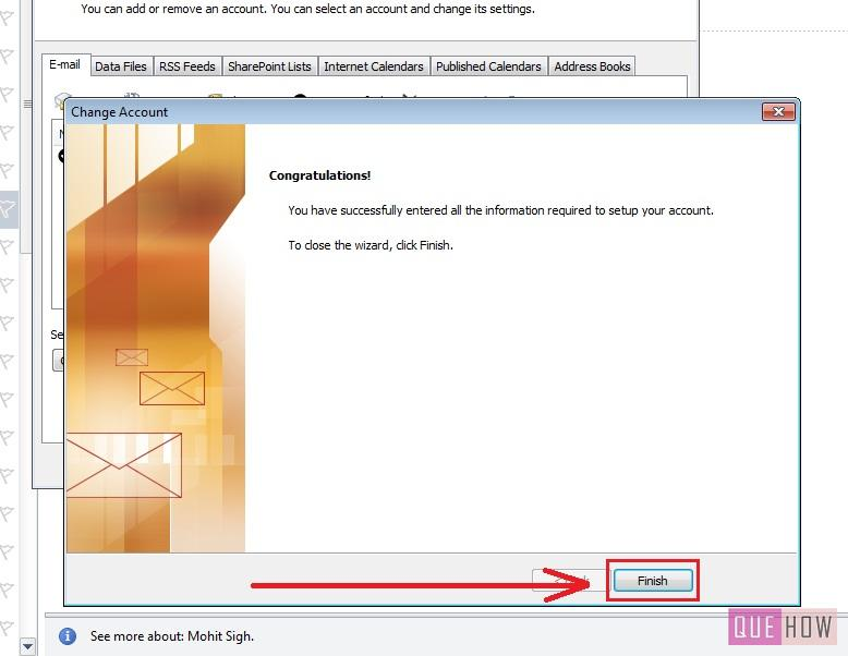 how-to-change-password-outlook 2010-step6