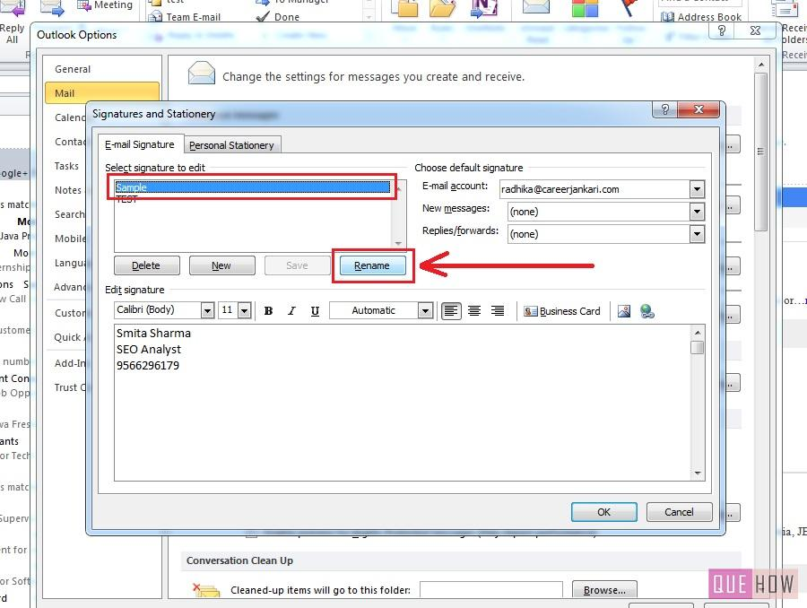 how-to-edit-signature-outlook 2010-step4