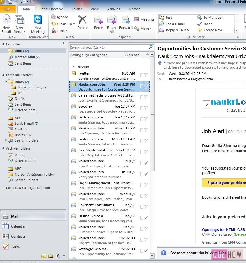 How to Import Contacts in Outlook 2010: 7 Steps (with Images