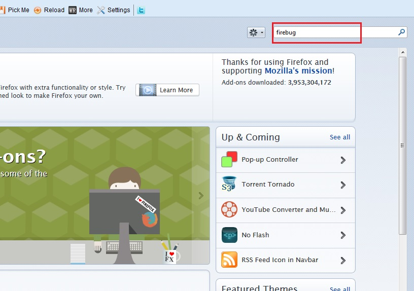 how to install Add-ons in mozilla firefox step2