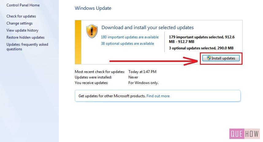 how to install language pack windows 7 step7