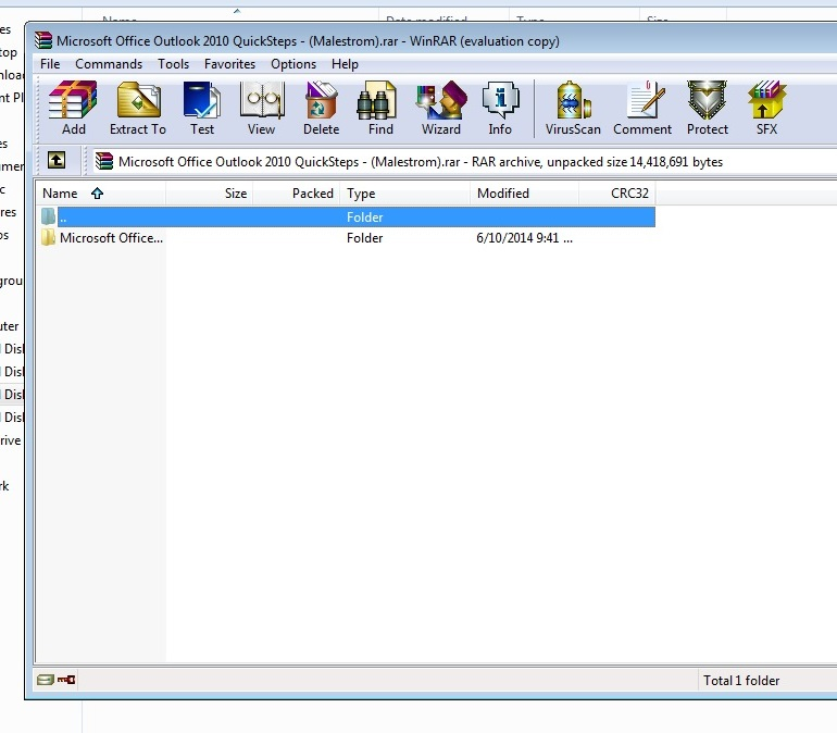 how to password protect a folder in windows 7 step6