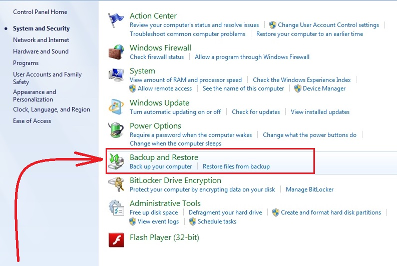 how to recover deleted files in windows 7 step3
