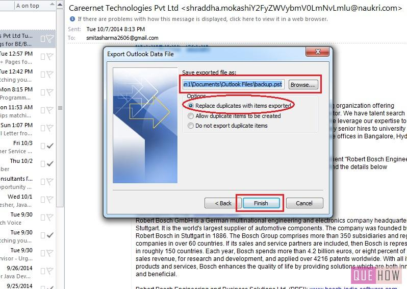 how-to-take-backup-outlook 2010-step7