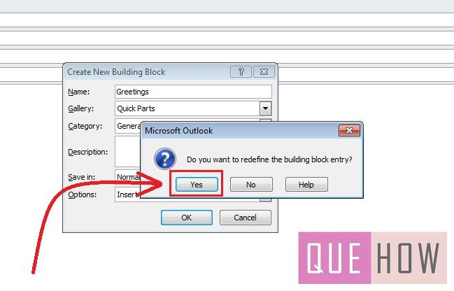 how-to-use-quick-parts-outlook 2010-step6