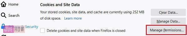 Disable-cookies-in-Firefox-5