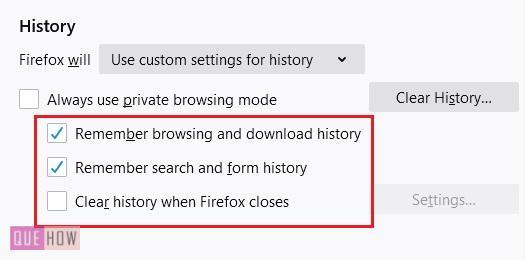Disable-history-in-firefox-7
