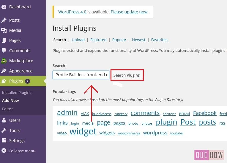 how-to-add-custom-registration-login-form-in-wordpress-using-a-plugin-step2