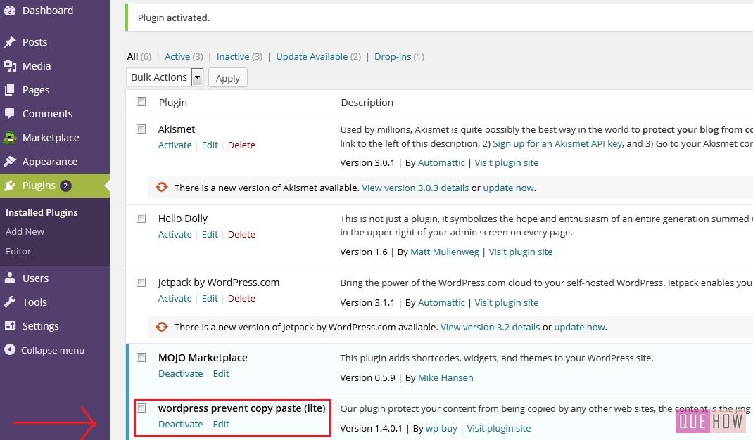 how-to-disable-click-on-wordpress-using-plugin-step6