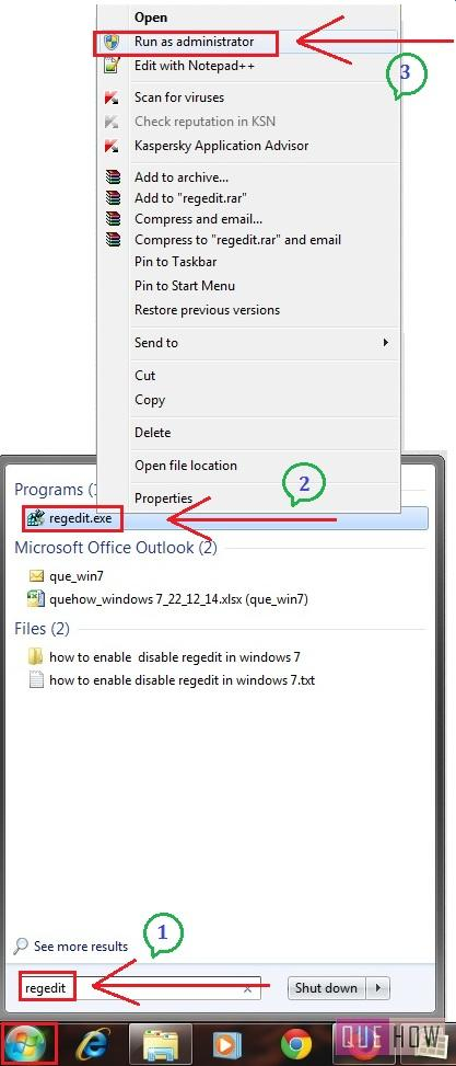 how-to-delete-registry-files-in-windows-7-step1