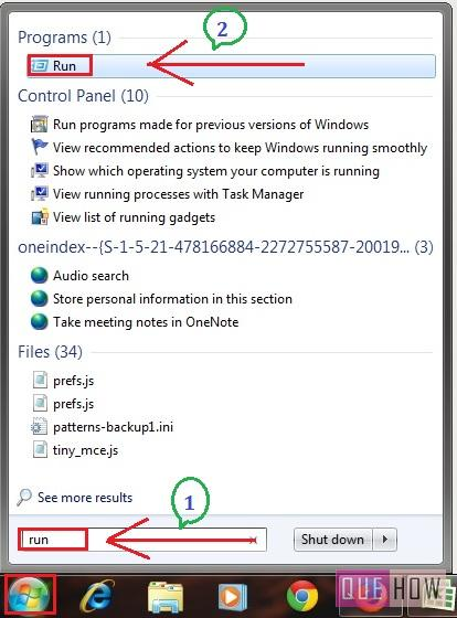 How to Disable Java Update Notification / jucheck exe in Windows 7