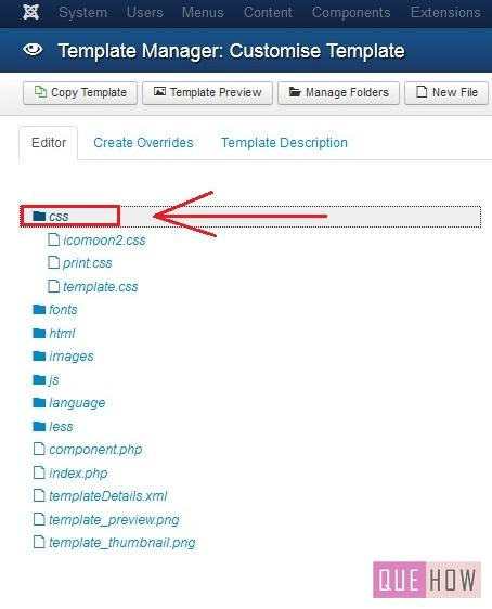 how to edit a template in joomla 3.x-step3